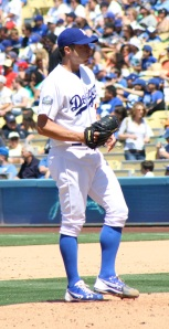 Last season Dodger pitcher Chris Capuano started 33 games with a 3.72 ERA.
