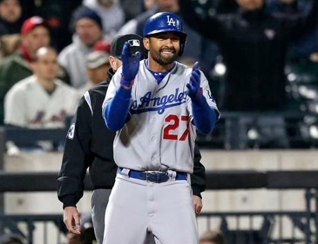 Matt Kemp's disputed  home run was the high point for the Dodgers.