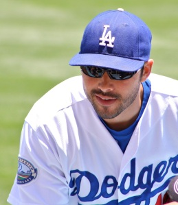 Dodgers right fielder Andre Ethier