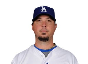 Dodger pitcher Josh Beckett