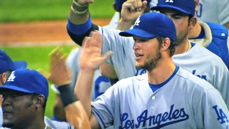 His Greatness, Clayton Kershaw, only gave up three hits and one run in a complete game, his fifth win of the season.