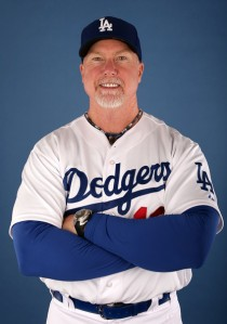 Batting coach Mark McGwire