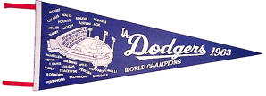 Dodgers 1963 pennant