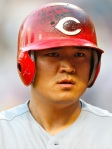 The Reds' Shin-Soo Choo has played in the majors since 2005 with a career .289 batting average.