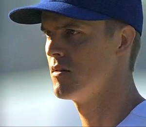 Dodgers pitcher Zack Greinke