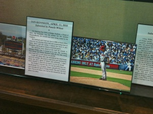 Baseball Reliquary exhibit
