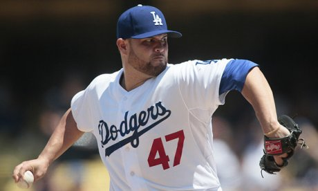 Ricky Nolasco gets the first start of the second half.