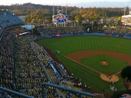"Vin Scully has taken to calling Dodger Stadium the ""Magic Castle."""