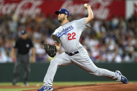 2013 Cy Young winner Clayton Kershaw got the win for the Dodgers in the first game of the 2014 season, a 3-1 nipper over the Arizona Diamondbacks in Australia. / Photo by Associated Press