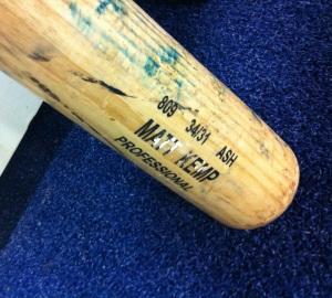 Matt Kemp's bat