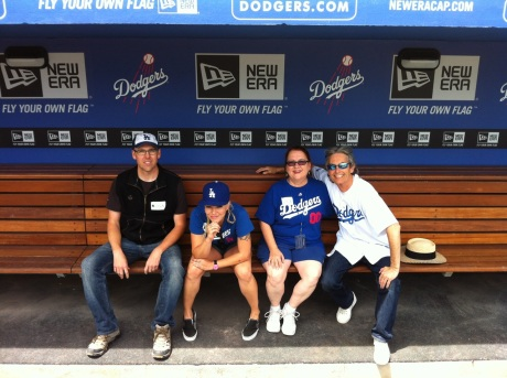 Just four fans playing at the Ravine.