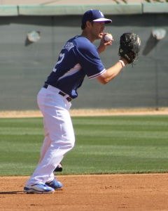 Clayton Kershaw at Spring Training in Arizona.